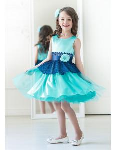 Платье нарядное бирюзовое Мэгги